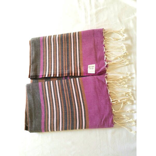Hand Woven 100% Cotton Bath Sheet by Neapolis
